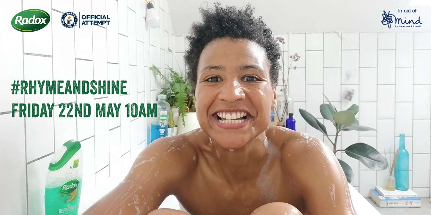 Radox Rhyme and Shine Shower Songs Website Banner