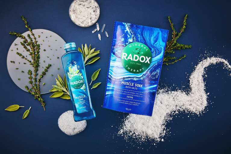 JPEG - Radox UK Muscle Soak Bath Salts and Soak 2021