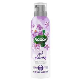 Radox Get glowing Shower Mousse 200ml